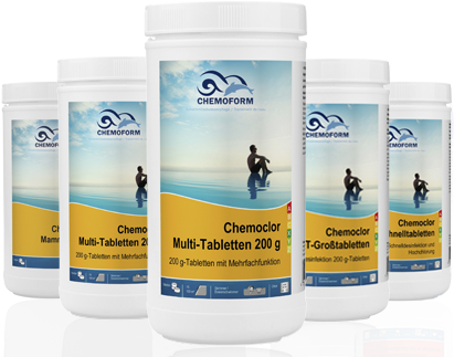Chemoclor Multi-Tabletten 200g