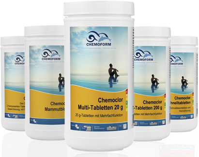 Chemoclor Multi-Tabletten 20g