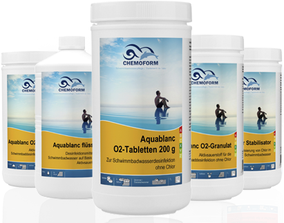 Aquablanc O2-Tabletten 200g